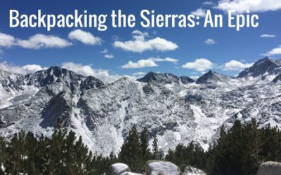 Backpacking the Sierras: An Epic