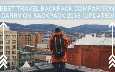 Best Travel Backpack Comparison: Carry on Backpack 2018 (Updated)