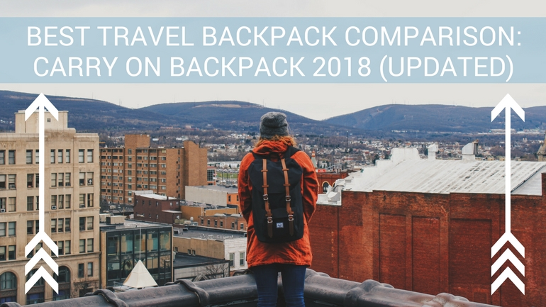 Best Travel Backpack: Carry on Backpack 2018 (Updated)